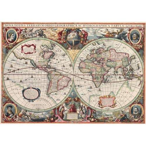 Tableau -Nova totius Terrarum Orbis geographica ac hydrographica tabula