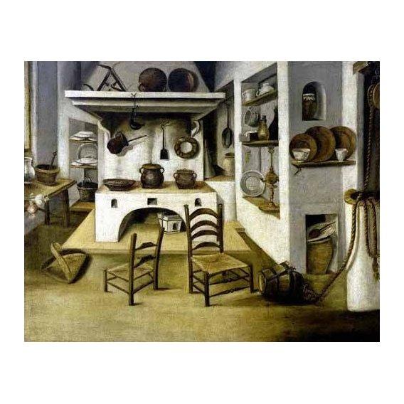 quadros decorativos - Quadro -La cocina-