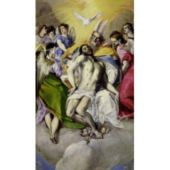 Tableaux religieuses - Tableau -Trinidad- - Greco, El (D. Theotocopoulos)