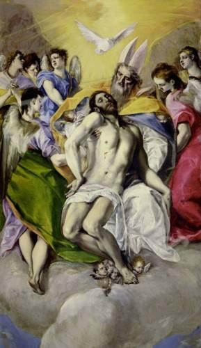 tableaux-religieuses - Tableau -Trinidad- - Greco, El (D. Theotocopoulos)