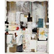 Tableau -Abstrait - intérieurs-