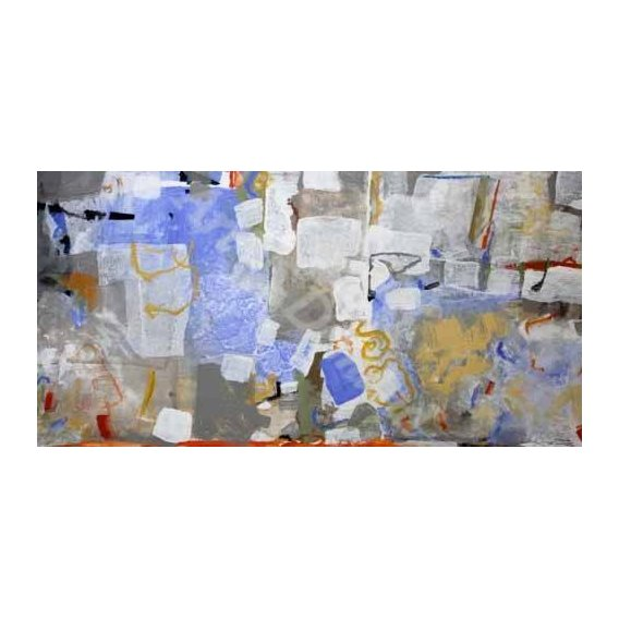 pinturas abstratas - Quadro -Abstracto _ Mediterraneo-