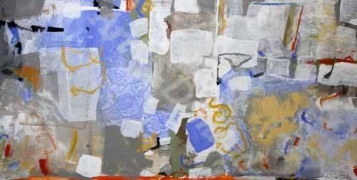 tableaux-abstraits - Tableau -Abstrait _ Méditerranéen- - Herron, Marisa