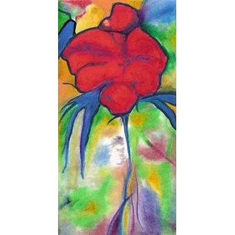Tableaux de Fleurs - Tableau -Coquelicot - - Molsan, E.