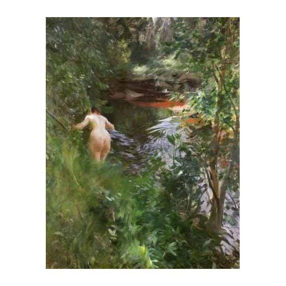 fotos nuas - Quadro -In Gopsmor, 1905-