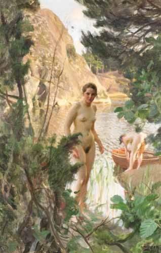tableaux-de-nus - Tableau -Jollen, 1918- - Zorn, Anders