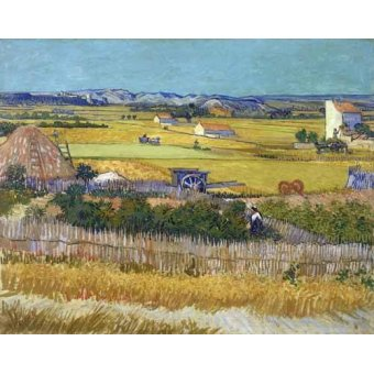 Tableau -La récolte, 1888-