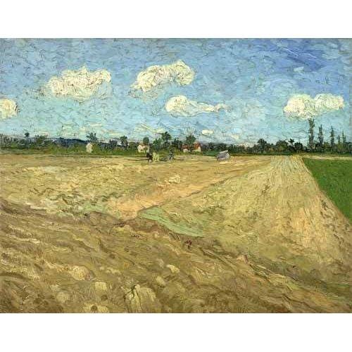 Tableau -Champs labourés (Les sillons), 1888-