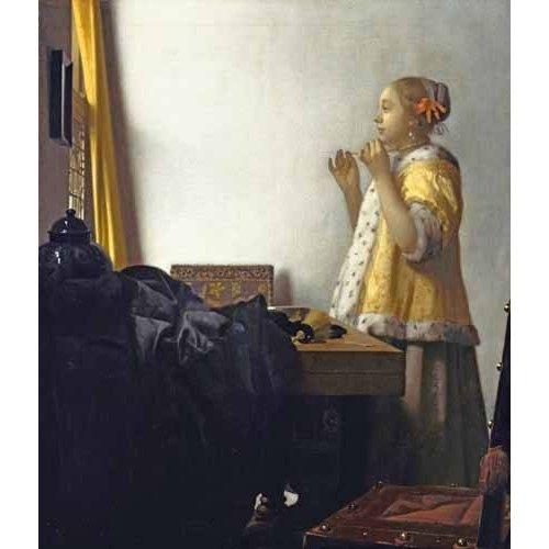 Tableau -La Dame au collier de perles, 1662-