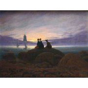 Tableau -Moonrise over the Sea, 1822-