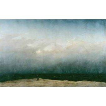 Tableaux de paysages marins - Tableau -Monk by the Sea, 1810- - Friedrich, Caspar David