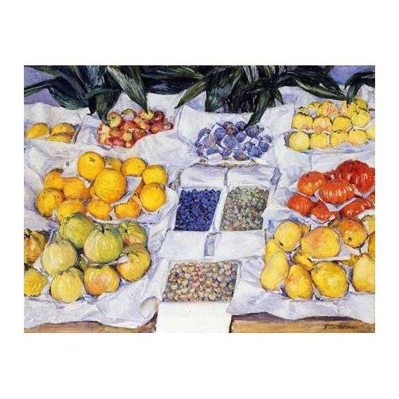 quadros decorativos - Quadro -Fruta expuesta en un mostrador-