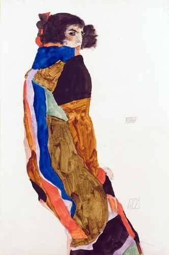 tableaux-de-personnages - Tableau -Moa, 1911- - Schiele, Egon