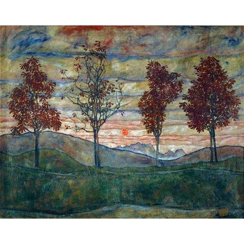 Tableau -Four Trees-