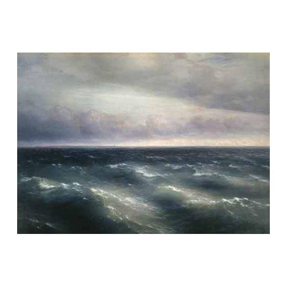 pinturas de paisagens marinhas - Quadro -The Black Sea, 1881-