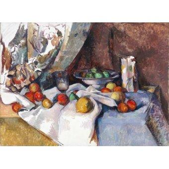 Tableaux nature morte - Tableau -Nature morte aux pommes, 1895-1898- - Cezanne, Paul