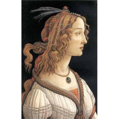 Tableau -Retrato femenino-