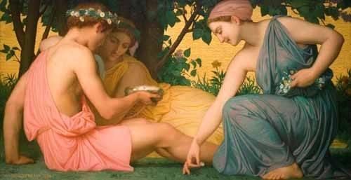 tableaux-de-personnages - Tableau -La primavera (Le printemps), 1858- - Bouguereau, William