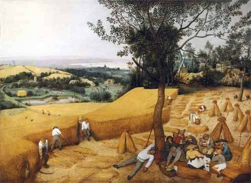 tableaux-de-paysages - Tableau -The Harvesters- - Bruegel