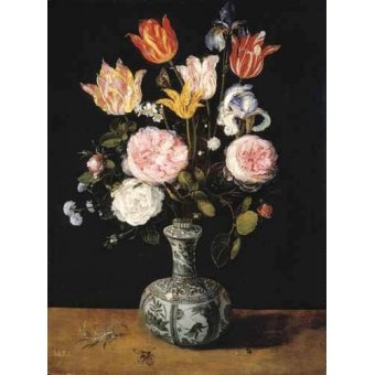 Tableaux de Fleurs - Tableau -Florero- - Bruegel