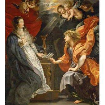 Tableaux religieuses - Tableau -L'annonciation, 1609- - Rubens, Peter Paulus