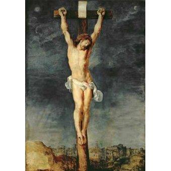 Tableaux religieuses - Tableau -Cristo en la cruz- - Rubens, Peter Paulus