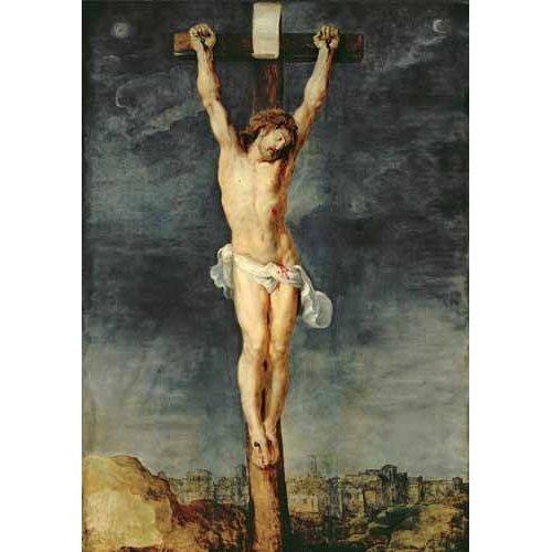 Tableau -Cristo en la cruz-