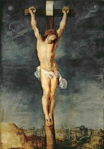 tableaux-religieuses - Tableau -Cristo en la cruz- - Rubens, Peter Paulus