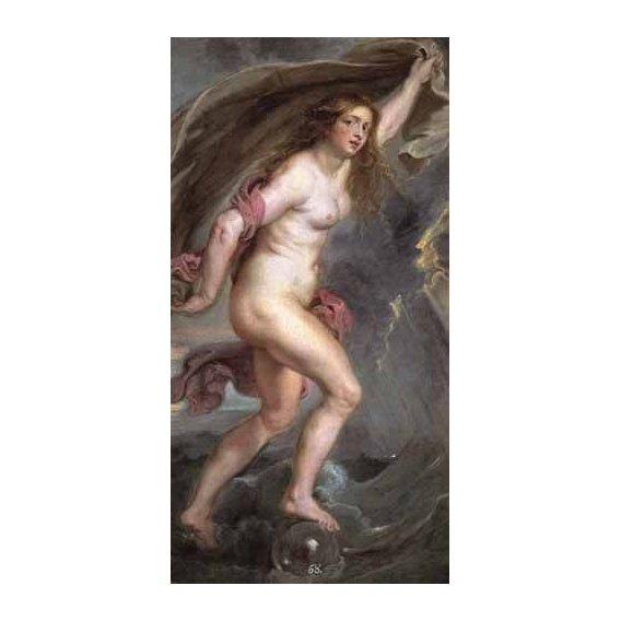 pinturas do retrato - Quadro -La Fortuna-