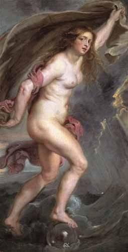 tableaux-de-personnages - Tableau -La Fortuna- - Rubens, Peter Paulus