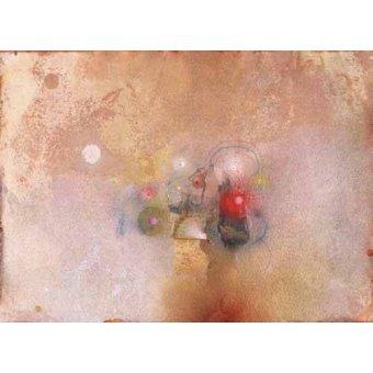 Tableaux abstraits - Tableau -Universo-VII- - Tapissan, James