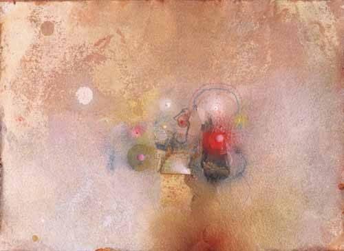 tableaux-abstraits - Tableau -Universo-VII- - Tapissan, James