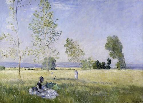 tableaux-de-paysages - Tableau -Été, 1874- - Monet, Claude