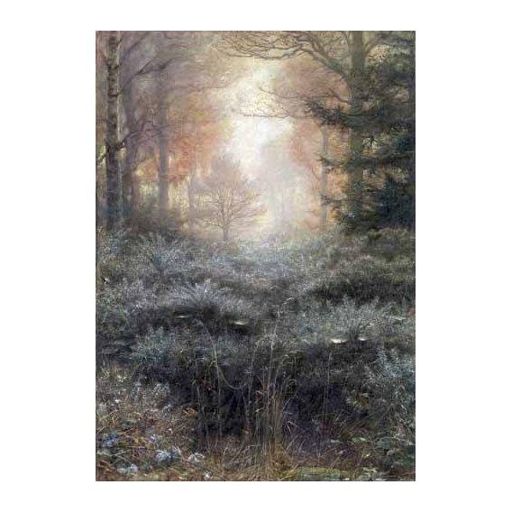 pinturas de paisagens - Quadro -Dew-Drenched Furze-