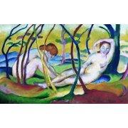 Tableau -Nus sous les arbres, 1911-