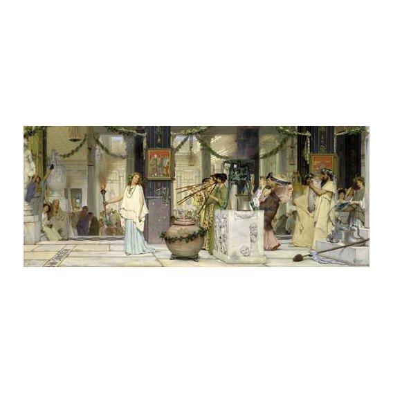 pinturas do retrato - Quadro -The vintage festival, 1871-