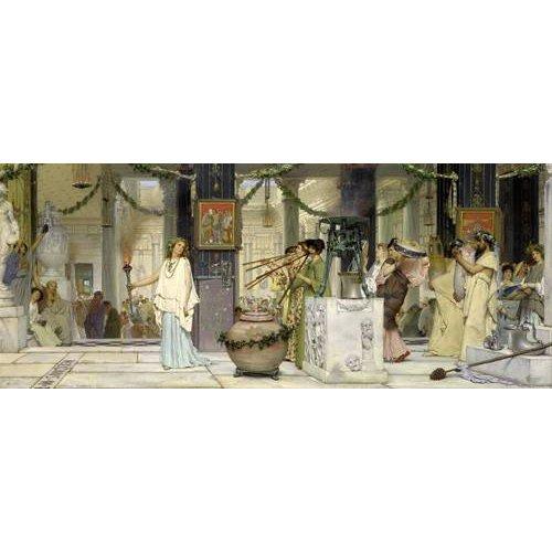 Tableau -The vintage festival, 1871-