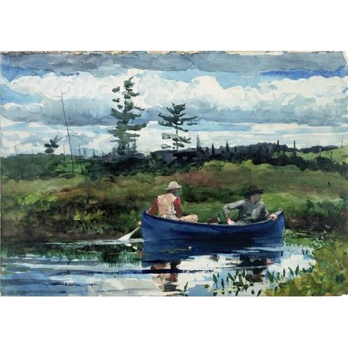 Tableau -The Blue Boat, 1892-