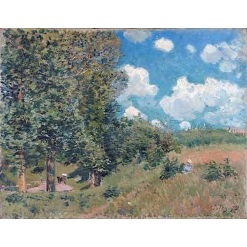 Tableau -The Road from Versailles to Saint-Germain, 1875-