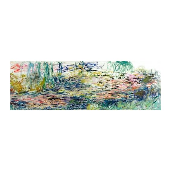 pinturas de paisagens - Quadro -Nenúfares, 1917-