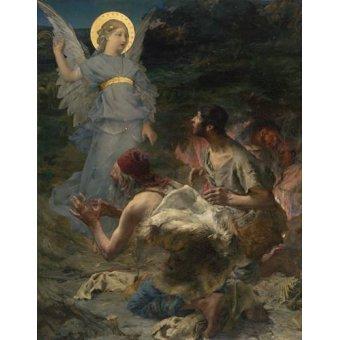 Tableaux religieuses - Tableau -L'annonciation aux bergers, 1875- - Bastien Lepage, Jules