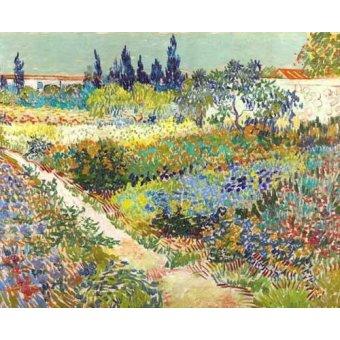 Tableau -Jardin d'Arles, 1888-