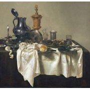 Tableau -Banquet Piece with Mince Pie, 1635-