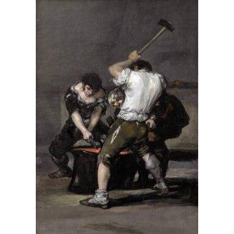 Tableaux de Personnages - Tableau -La_fragua, 1815-1820- - Goya y Lucientes, Francisco de