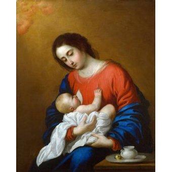 Tableau -La Virgen y El Niño, 1658-