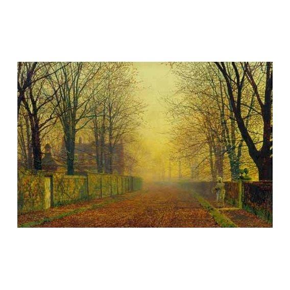 pinturas de paisagens - Quadro -Evening_Glow, 1888-