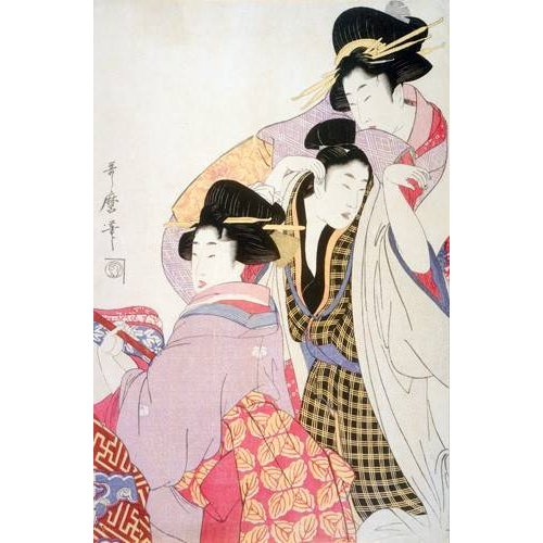 Tableau -Two Geishas and a Tipsy Client- geisha