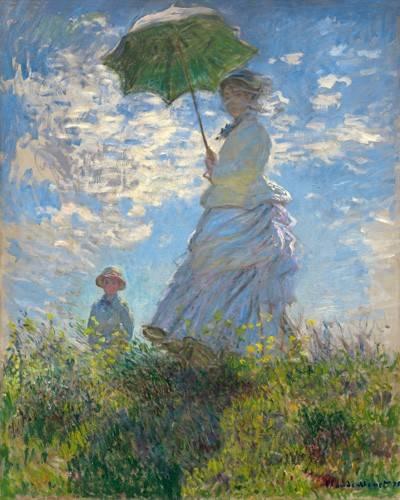 tableaux-de-personnages - Tableau -La Promenade, 1875- - Monet, Claude