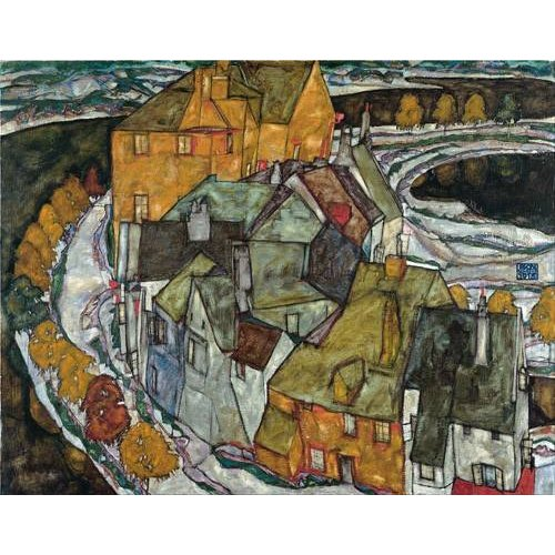 Tableau -Crescent of Houses II (Island Town), 1915-