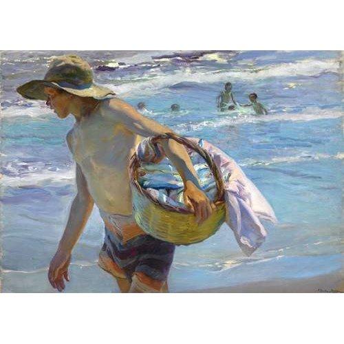 Tableau -Le pêcheur-